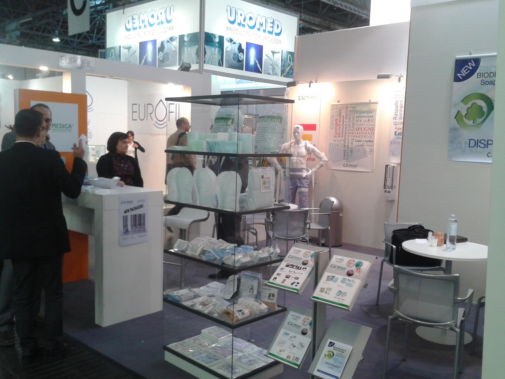 Expositores en Medica 2012, Düsseldorf, Alemania
