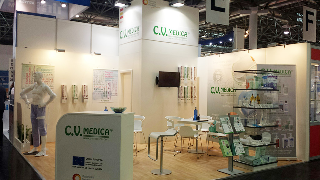 Stand Medica-2015, Dusseldor